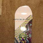 info-bleach-smokin-awesymmetrical -snowboard-nose